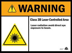 Class 3B Sign