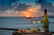 Wine at Sunset Loop, British Virgin Islands