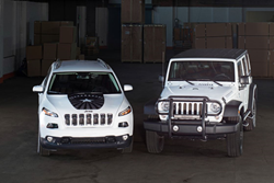Jeep Warrior Wrangler and Cherokee