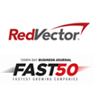 RedVector Named One of the 50 Fastest-Growing Companies in Tampa Bay by the TBBJ