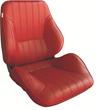 Procar Rally Series Lowback Seat, Maroon Vinyl