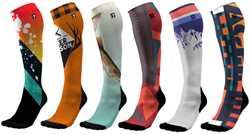 Designer Compression Socks
