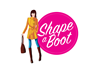 Shape-A-Boot is a small strip that goes around the inside of the boot and is designed to reduce the width of the opening of the boot.