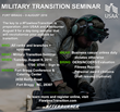Veteran Transition: Afterburner Returns to Fort Bragg on August 9, 2016 to Deliver USAA-sponsored Military Transition Seminar for Service Members and Spouses