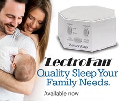 LectroFan White Noise and Fan Sound Machine