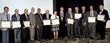 IAC2016 Awardees (l to r) Dr. Hoit, Dr. Rosenson, Dr. Rahimtoola, Dr. Borer, Dr. Dhalla, Dr. Klatsky, Dr. Wenger, Dr. Kimchi, Dr. Braunwald, Dr. Hennekens, Dr. Elefteriades, Dr. Birnbaum, Dr. Malinski