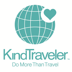 Kind Traveler Logo - Do More Than Travel