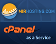 сPanel as a service in MIRhosting cloud