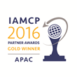 IAMCP Announces QUADROtech as the APAC Gold Winner in the IAMCP 2016 Global Partner-to-Partner Awards Program