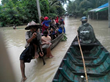 Gospel for Asia-supported Workers Take Quick Action to Aid Myanmar Flood Victims