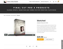 Sketched - FCPX - Pixel Film Studios Plugin