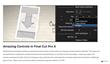 FCPX - Sketched - Pixel Film Studios Plugin