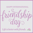 Brookhaven Retreat Recognized International Friendship Day on July 30th by sharing 10 Tips for Being a True Friend.
