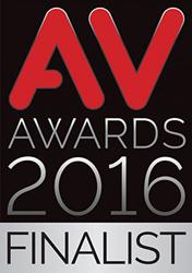 AV Awards Finalist Badge