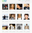 VITY Browse Influencers Screen