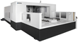 Okuma's MA-12500HW Horizontal Machining Center with New W-Axis is Ideal for Cutting Exotic Materials