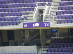 Lawrence Sign Supplies Minnesota Vikings' Ring of Honor Signage