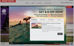 EzyDog - ShopSocially - Referral Program