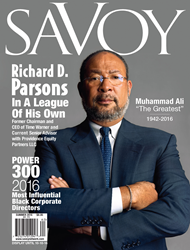 Richard Parsons, Former CEO of Time Warner is Featured on one of Savoy's Dual Covers. Also includes the Most Influential Black Corporate Directors Listing