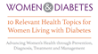 DiabetesSisters and the Society for Women's Health Research Release A Report On Women and Diabetes