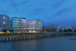 Rendering of the New DC Water Headquarters, Washington, DC