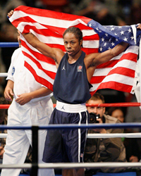 U.S. Olympic Boxer who competed in 2004, 2008 and 2012