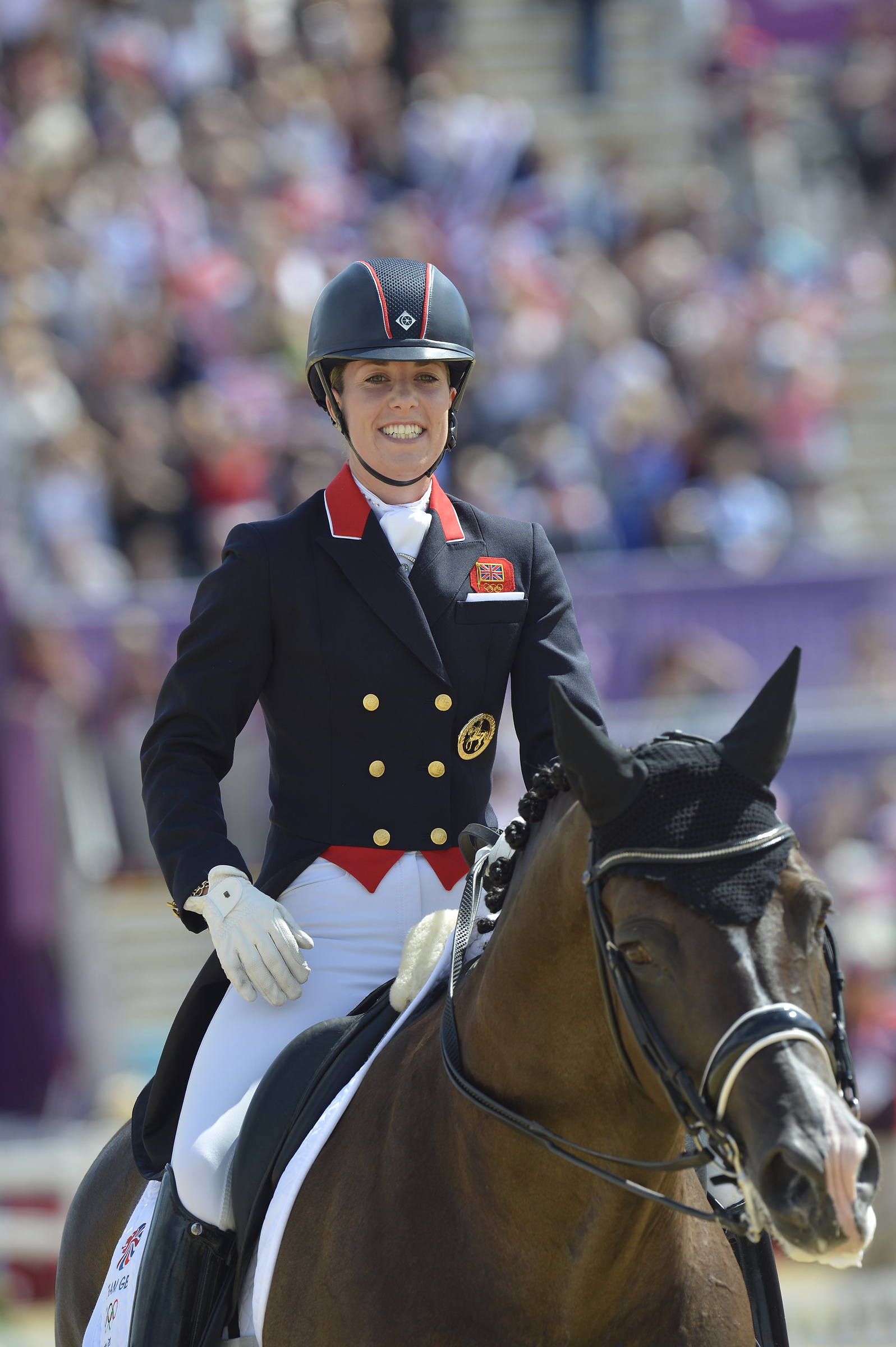 Can britain s golden couple do it again fei olympic for Charlotte dujardin