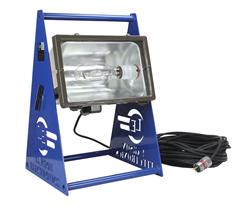 Hazardous Location Metal Halide Work Light on Base Stand