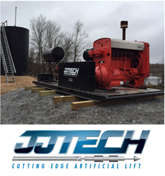 JJ Tech T100 Natural Gas Powered Skid