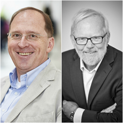 Mundipharma IT Services CEO Thomas Gageik and Pipol founder and CEO Poul Kjaer