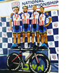 Texas Roadhouse Cycling Team Presented by ProRehab Physical Therapy Wins National Team Pursuit Championship