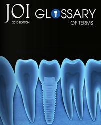 JOI Glossary of Terms, 2016 Edition Cover