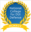 National College for DUI Defense Drug Testing and Trial Course Opens for Registration