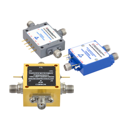 Fairview Microwave Introduces a New Line of Single Pole Double Throw (SPDT) PIN Diode Switches from 10 MHz to 67 GHz
