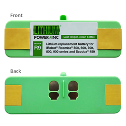 Lithium Power Releases First Replacement Battery for New Roomba 980