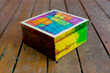 Artistic one-of-a-kind gift boxes are made by member artists.