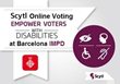 For the First Time Ever Barcelona's Municipal Institute of Persons with Disabilities Vote Independently and Securely with Online Voting