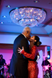 Julius and Dorys Erving share a special moment on the dance floor at the 2015 Erving Ball