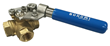 Bonomi Introduces Unique Four-Seated Three-Way Brass Ball Valves With Spring Return Handles