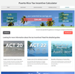 New Puerto Rico Act 20 & 22 Tax Incentive Calculator for Businesses and Investors