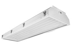 Class 1 Division 2 Fluorescent Light Fixture with Polycarbonate Lens