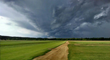 Storm over turfgrass fields