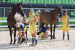 FEI; Swedes Steal the Show as Horse Inspection Gets Olympic Eventing Underway