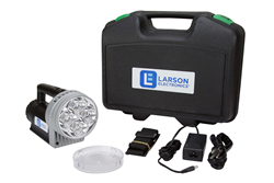 Handheld LED Search Light Equipped with a 14.4 volt Lithium-Ion Battery