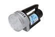 Handheld LED Spotlight Equipped with a Removable Flood Lens