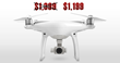 $1,199 DJI Phantom 4 Sale ($200 Off) at Drone-World.com