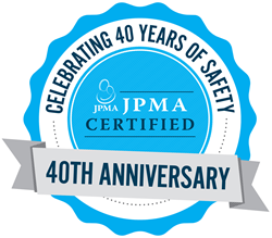 JPMA Certification Program 40th Anniversary