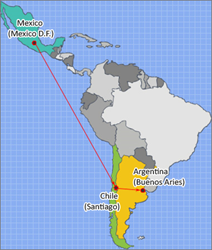 CAYIN: Route for Trade Mission to Latin America