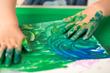 Finger painting?  No worries with Messmatz™