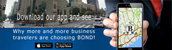 Bond Limo of Connecticut's all new smart phone mobile app make reservations with a touch and a swipe.